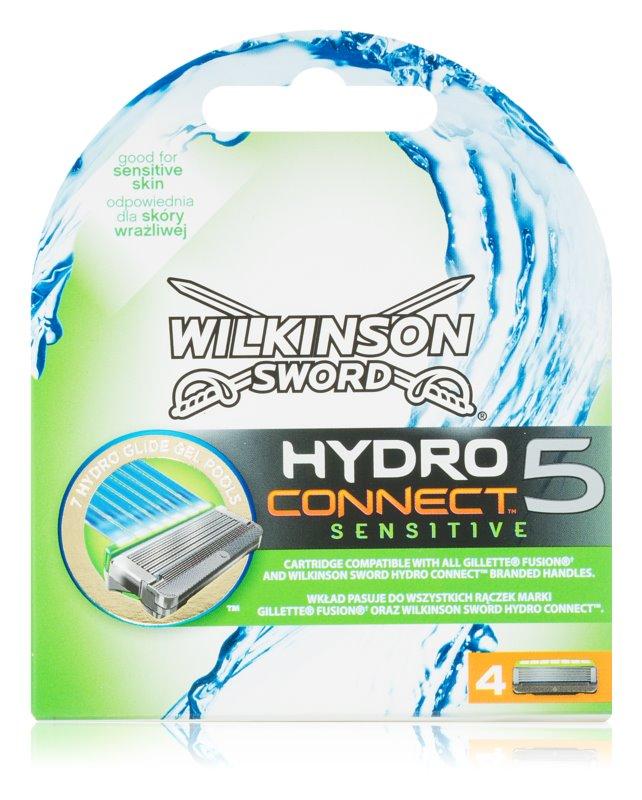 Wilkinson Sword Hydro Connect 5 nadomestne britvice za občutljivo kožo