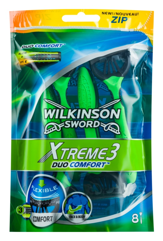 Wilkinson Sword Xtreme 3 Duo Comfort Disposable Razors 8 pcs