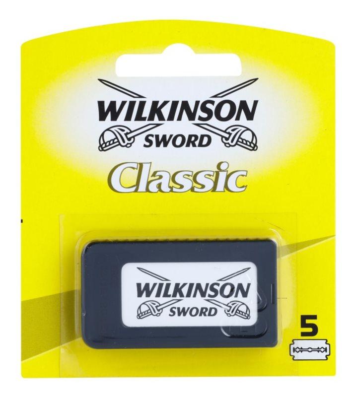 Wilkinson Sword Classic recarga de lâminas 5 pçs