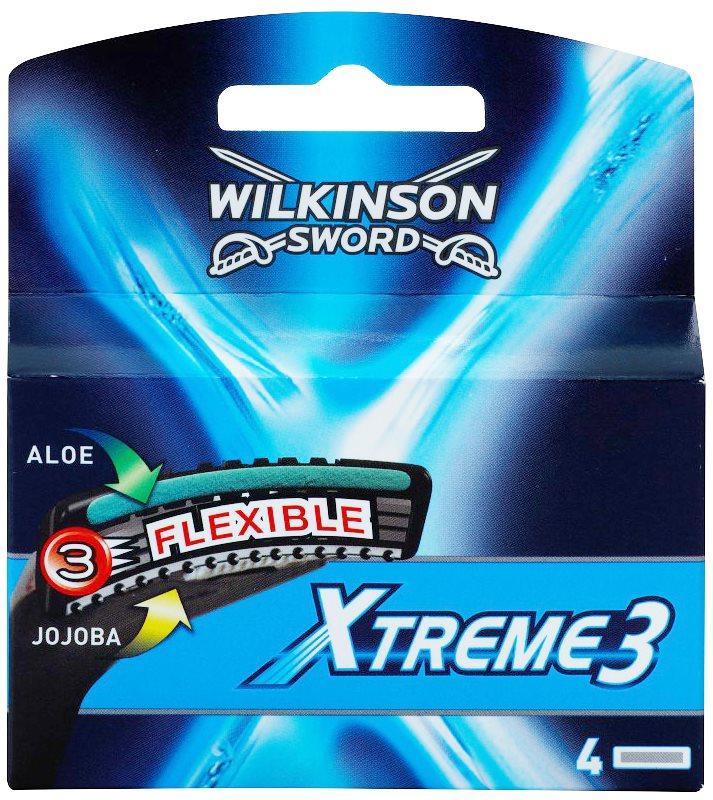 Wilkinson Sword Xtreme 3 lames de rechange 4 pièces