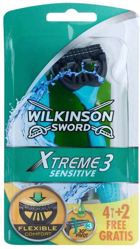 Wilkinson Sword Xtreme 3 Sensitive jednorázová holítka