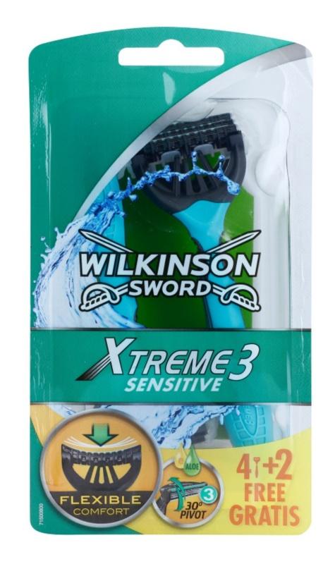 Wilkinson Sword Xtreme 3 Sensitive lâmina descartável