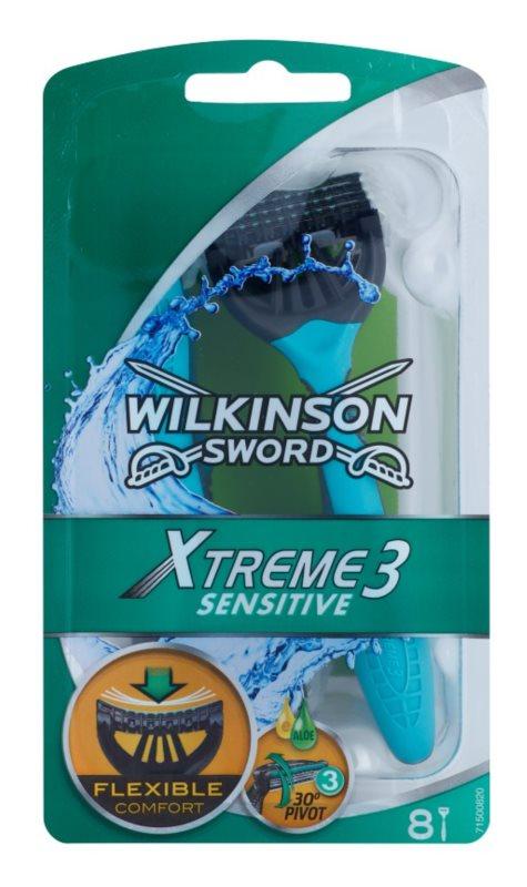 Wilkinson Sword Xtreme 3 Sensitive Einweg-Rasierer
