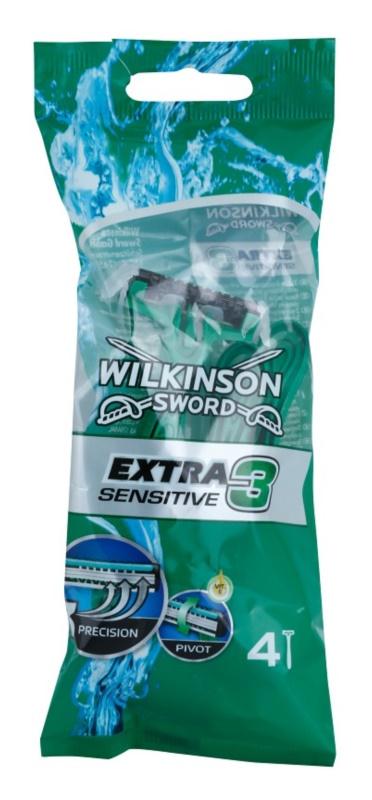 Wilkinson Sword Extra 3 Sensitive maszynki jednorazowe