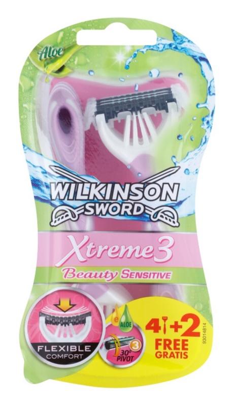 Wilkinson Sword Xtreme 3 Beauty Sensitive jednorázové holiace strojčeky