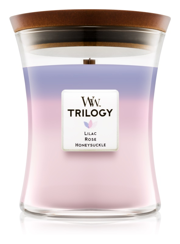Woodwick Trilogy Botanical Gardens Scented Candle 275 g