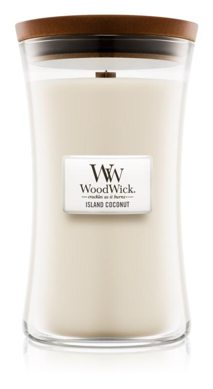 Woodwick Island Coconut lumanari parfumate  609,5 g mare