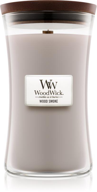 Woodwick Wood Smoke lumanari parfumate  609,5 g mare