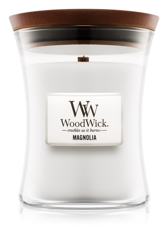Woodwick Magnolia vonná sviečka 275 g stredná