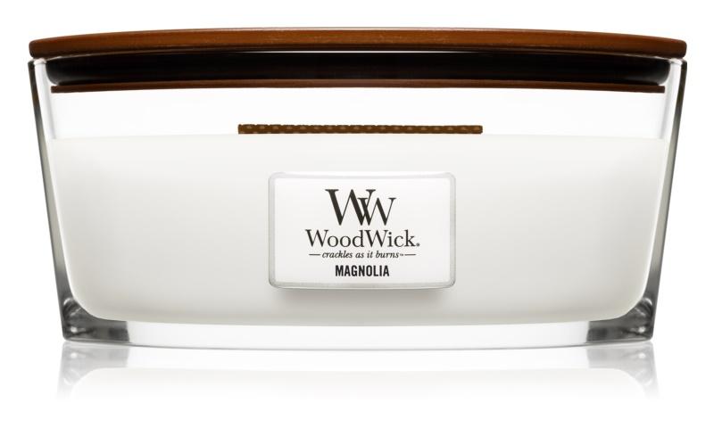 Woodwick Magnolia illatos gyertya  453,6 g Hearthwick