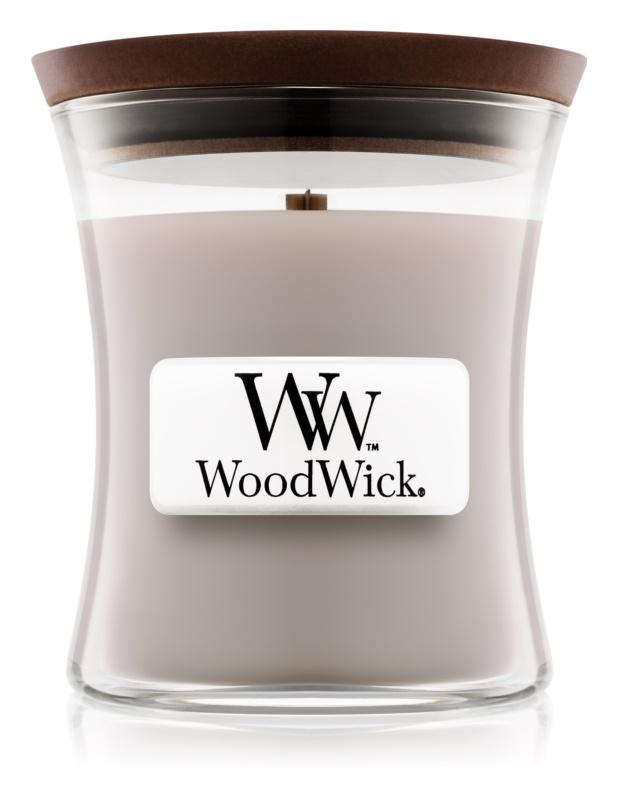 Woodwick Wood Smoke vonná sviečka 85 g malá
