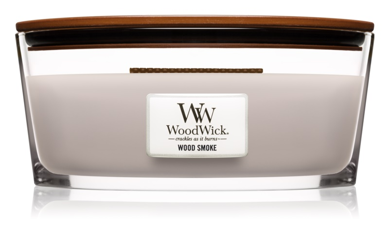 Woodwick Wood Smoke illatos gyertya  453,6 g Hearthwick