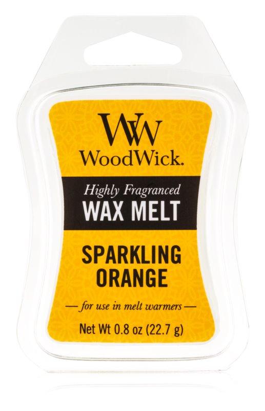 Woodwick Sparkling Orange tartelette en cire 22,7 g