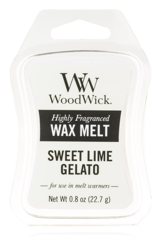 Woodwick Sweet Lime Gelato tartelette en cire 22,7 g