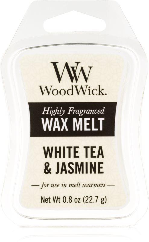 Woodwick White Tea & Jasmin Duftwachs für Aromalampe 22,7 g