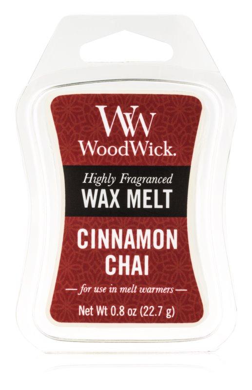 Woodwick Cinnamon Chai Duftwachs für Aromalampe 22,7 g