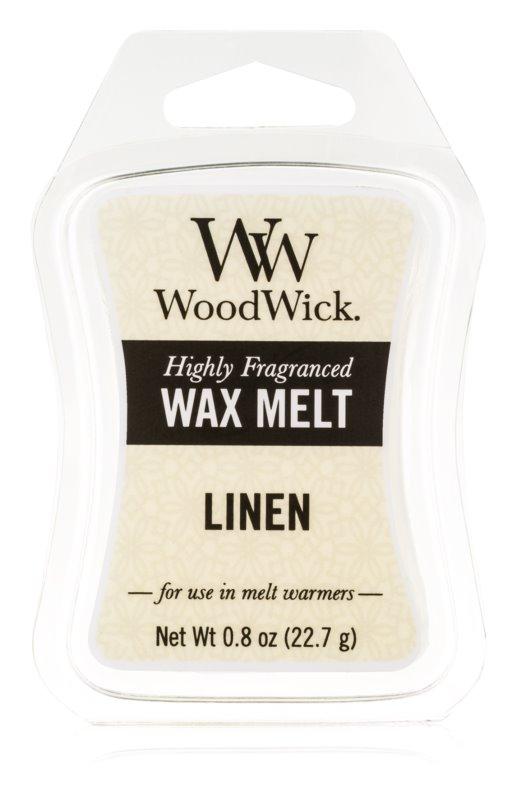 Woodwick Linen восък за арома-лампа  22,7 гр.
