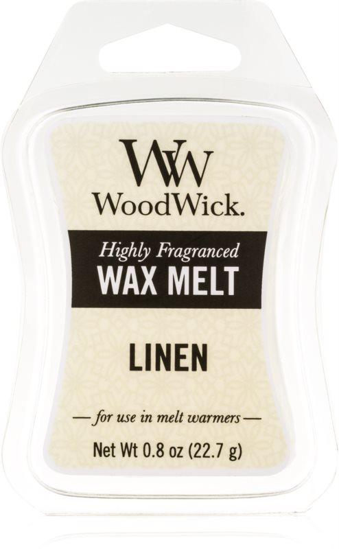 Woodwick Linen Wachs für Aromalampen 22,7 g