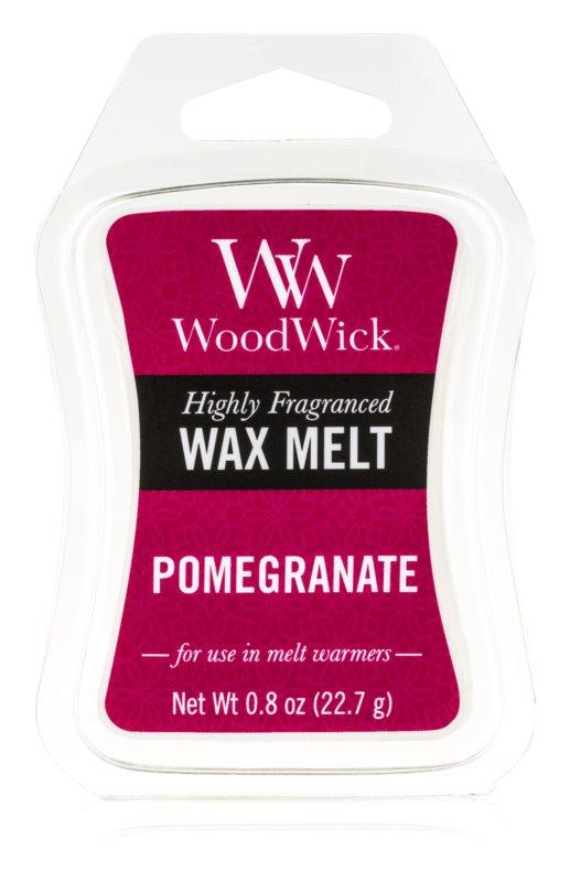 Woodwick Pomegranate cera per lampada aromatica 22,7 g