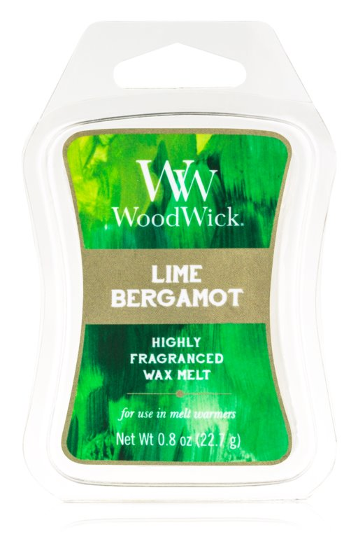 Woodwick Lime Bergamot vosk do aromalampy 22,7 g