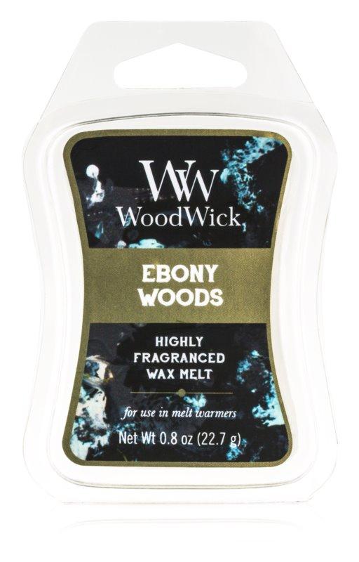 Woodwick Ebony Woods cera per lampada aromatica 22,7 g Artisan