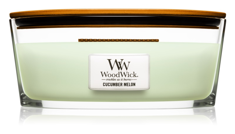 Woodwick Cucumber Melon lumanari parfumate  453,6 g Hearthwick