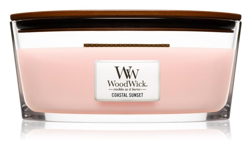 Woodwick Coastal Sunset bougie parfumée 453,6 g avec mèche en bois (Hearthwick)