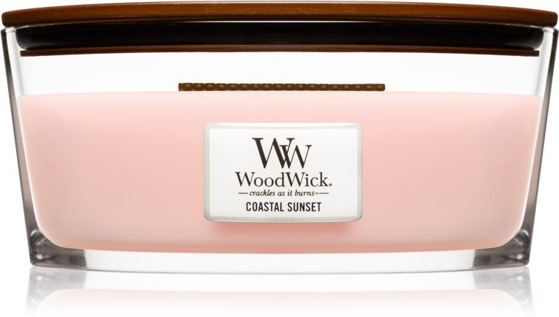 Woodwick Coastal Sunset lumânare parfumată  453,6 g Hearthwick