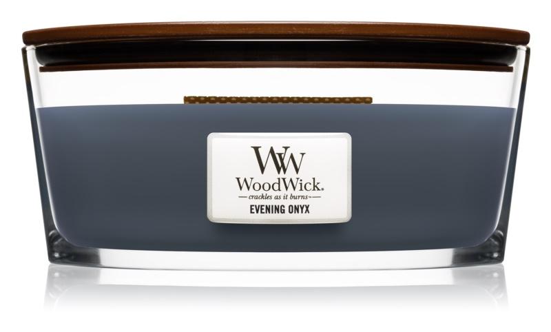 Woodwick Evening Onyx illatos gyertya  453,6 g Hearthwick