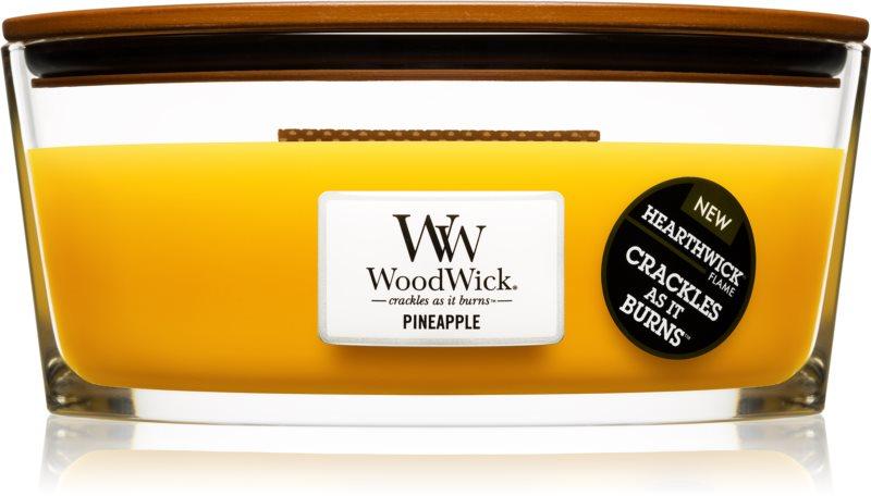 Woodwick Pineapple bougie parfumée 453,6 g Hearthwick