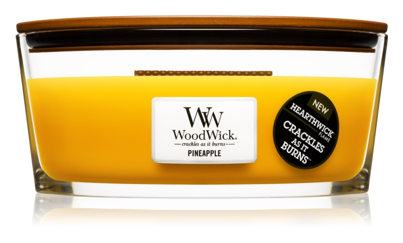 Woodwick Pineapple vonná svíčka 453,6 g Hearthwick