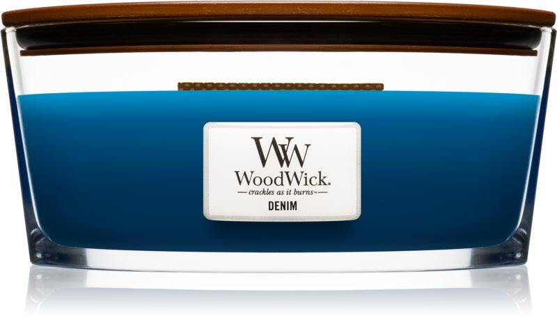 Woodwick Denim vonná svíčka 453,6 g Hearthwick