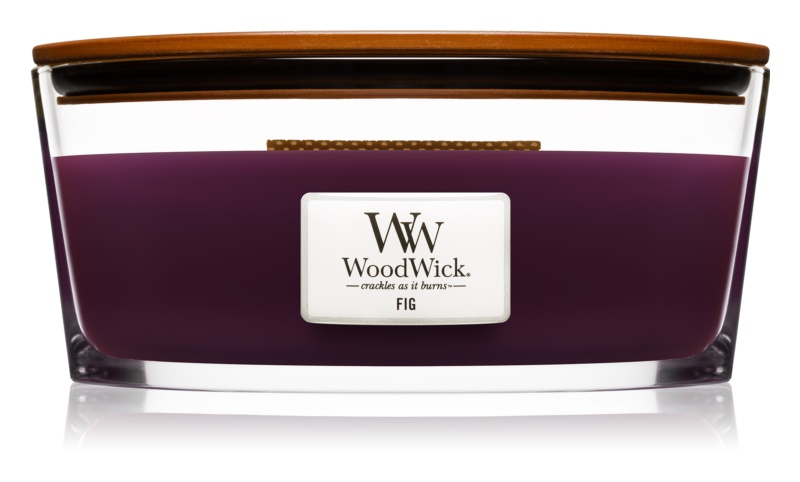 Woodwick Fig Geurkaars 453,6 gr Hearthwick