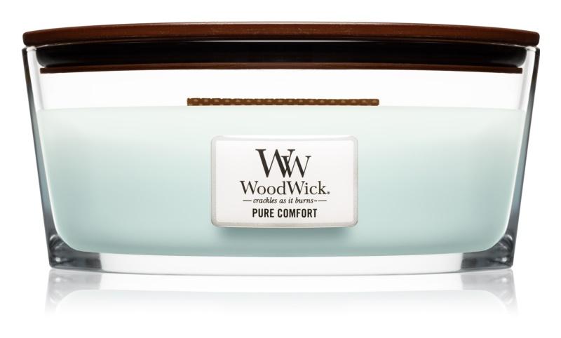 Woodwick Pure Comfort lumânare parfumată  453,6 g cu fitil din lemn (Hearthwick)