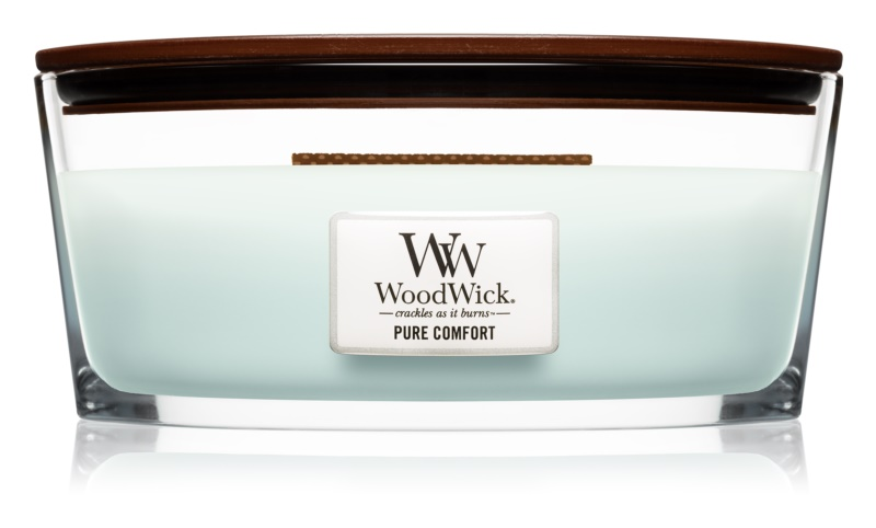 Woodwick Pure Comfort Scented Candle 453,6 g Hearthwick