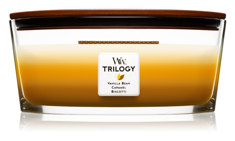 Woodwick Trilogy Café Sweets Scented Candle 453,6 g Hearthwick
