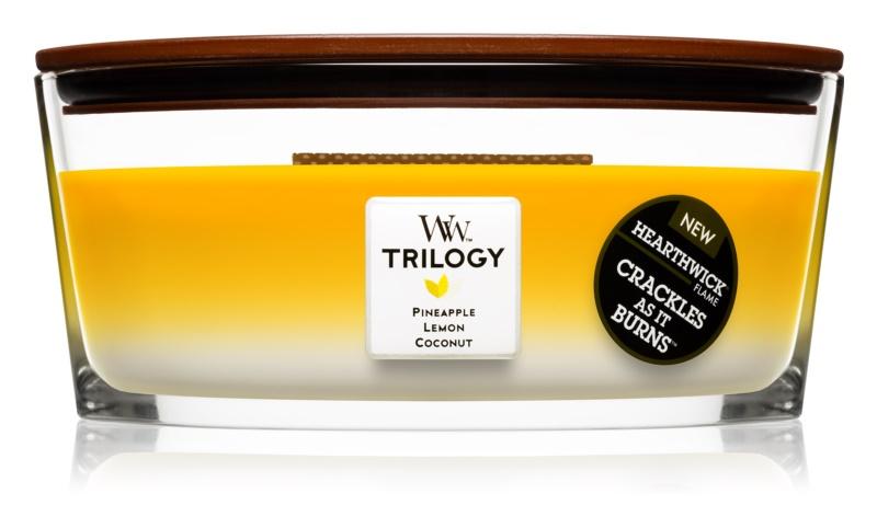 Woodwick Trilogy Fruits of Summer vonná svíčka 453,6 g Hearthwick