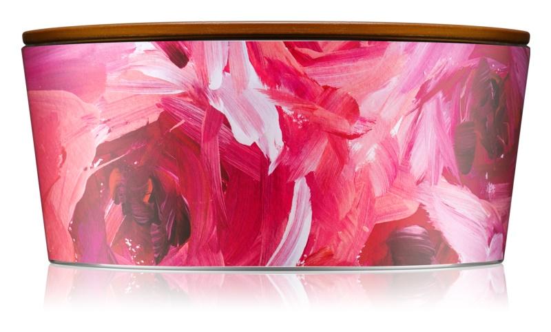 Woodwick Artisan Ellipse Red Currant & Cedar lumânare parfumată  453,6 g Hearthwick