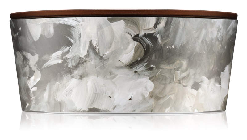 Woodwick Artisan Ellipse Black Amber & Citrus vonná sviečka 453,6 g Hearthwick