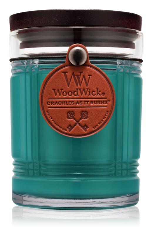 Woodwick Reserve Spruce illatos gyertya  226,8 g