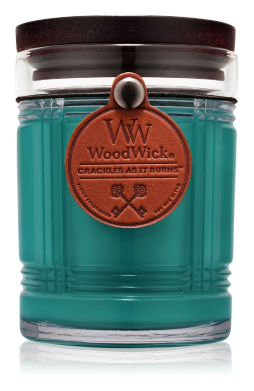 Woodwick Reserve Spruce lumanari parfumate  226,8 g