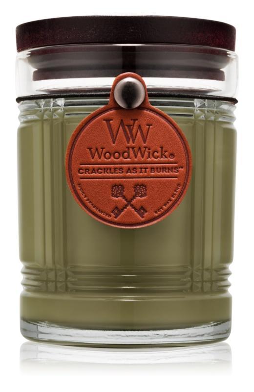 Woodwick Reserve Oak vonná svíčka 226,8 g