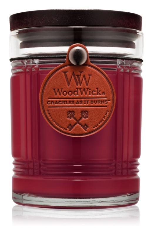 Woodwick Reserve Mahogany lumânare parfumată  226,8 g