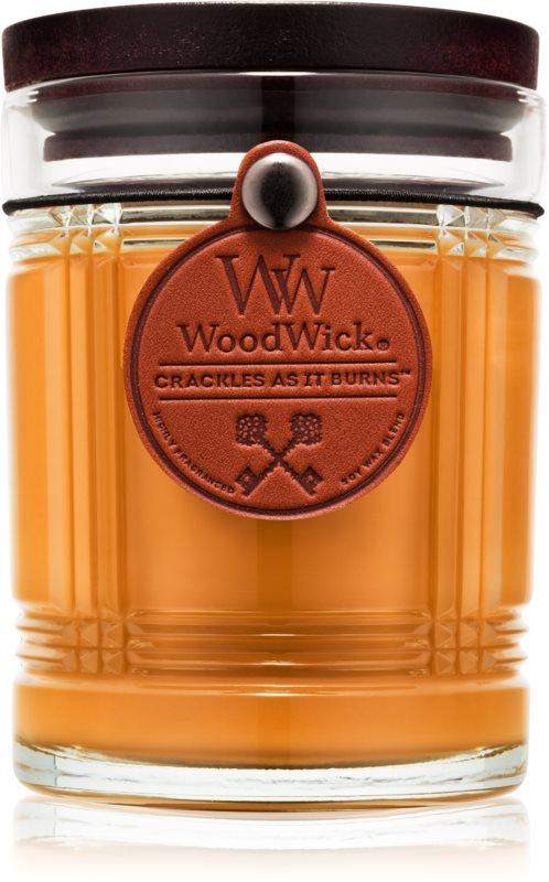 Woodwick Reserve Teakwood vonná svíčka 226,8 g