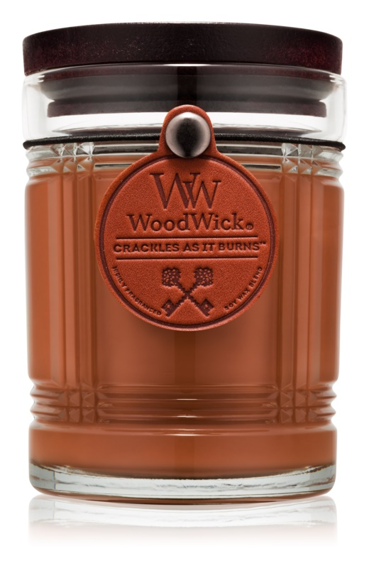 Woodwick Reserve Humidor lumânare parfumată  226,8 g