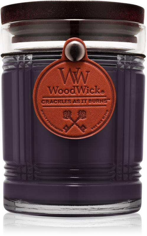 Woodwick Reserve Midnight illatos gyertya  226,8 g