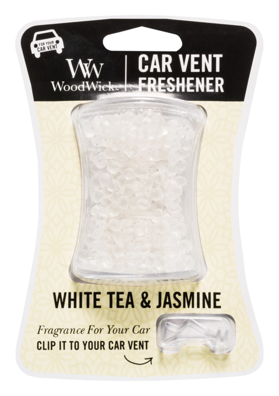 Woodwick White Tea & Jasmin Autoduft   Clip