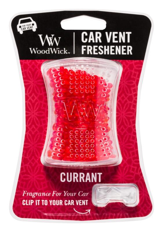 Woodwick Currant vôňa do auta   clip