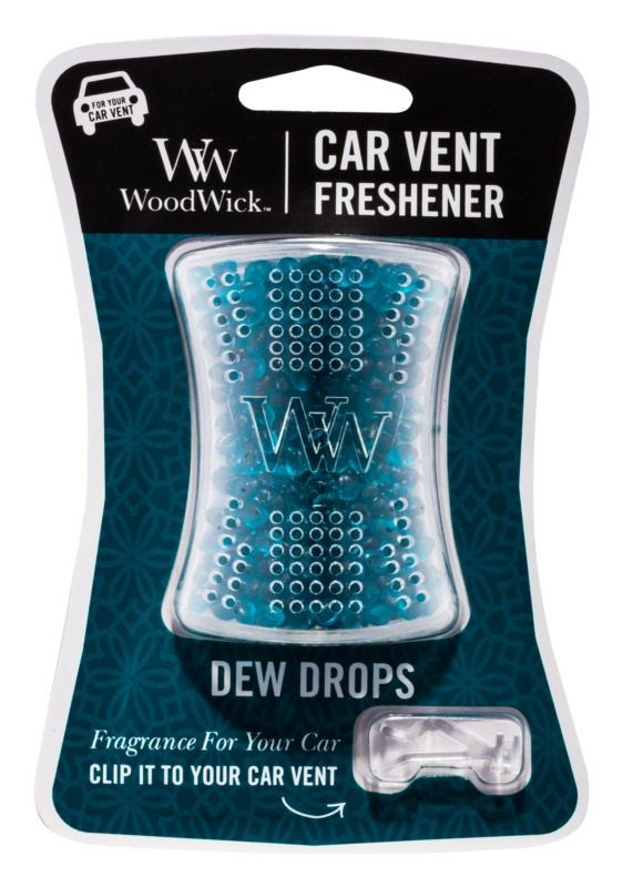 Woodwick Dew Drops Car Air Freshener   Clip