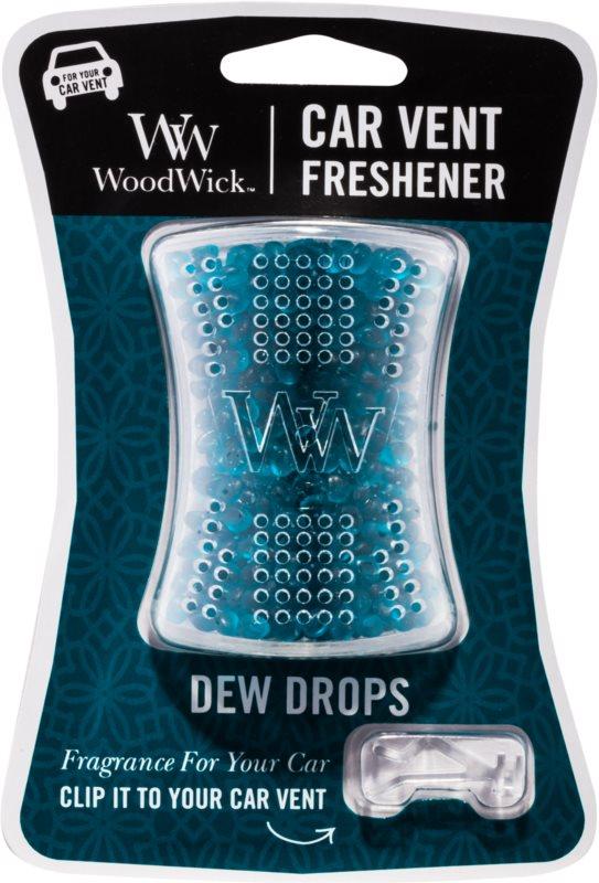 Woodwick Dew Drops vůně do auta   clip